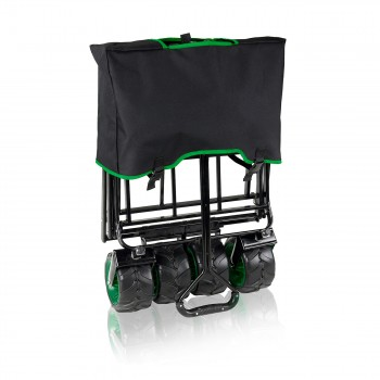 SAMAX Foldable Hand Cart Offroad - Black / Green – Bild 10