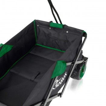 SAMAX Foldable Hand Cart Offroad - Black / Green – Bild 8