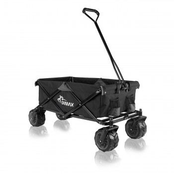 SAMAX Foldable Hand Cart Offroad - Black / Grey – Bild 1