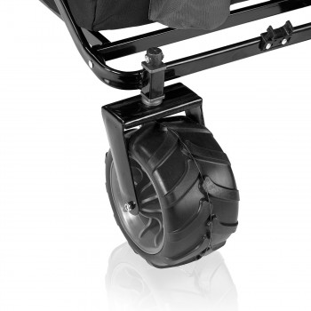 SAMAX Foldable Hand Cart Offroad - Black / Grey – Bild 11