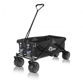 SAMAX Foldable Hand Cart Offroad - Black / Grey – Bild 4