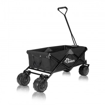 SAMAX Foldable Hand Cart Offroad - Black / Grey – Bild 5