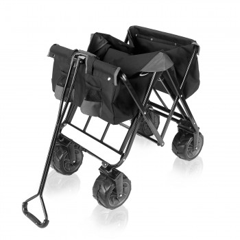 SAMAX Foldable Hand Cart Offroad - Black / Grey – Bild 9