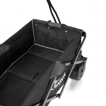 SAMAX Foldable Hand Cart Offroad - Black / Grey – Bild 8