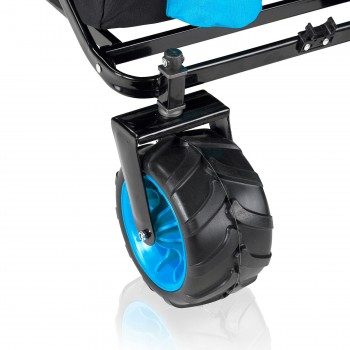 SAMAX Foldable Hand Cart Offroad - Black / Blue – Bild 11