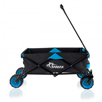SAMAX Foldable Hand Cart Offroad - Black / Blue – Bild 6