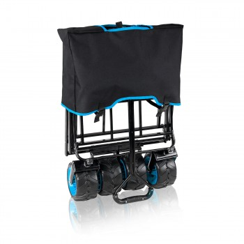 SAMAX Foldable Hand Cart Offroad - Black / Blue – Bild 10