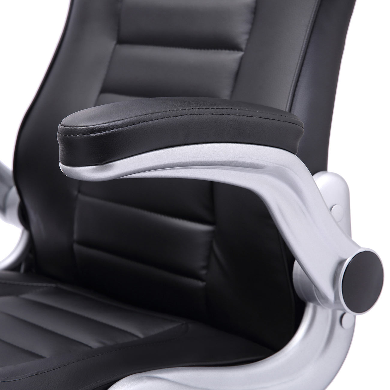 chaise bureau fauteuil si ge racing gamer sport ordinateur accoudoir noir v10 ebay. Black Bedroom Furniture Sets. Home Design Ideas