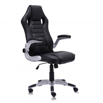 MY SIT Office Chair Racing in Black V10 Synthetic Leather – Bild 5