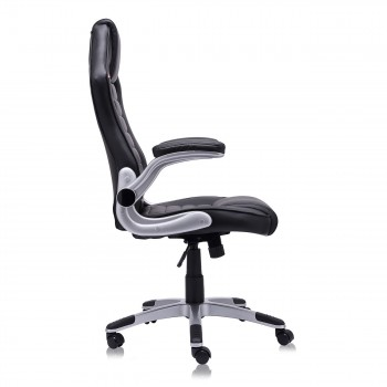 MY SIT Office Chair Racing in Black V10 Synthetic Leather – Bild 11