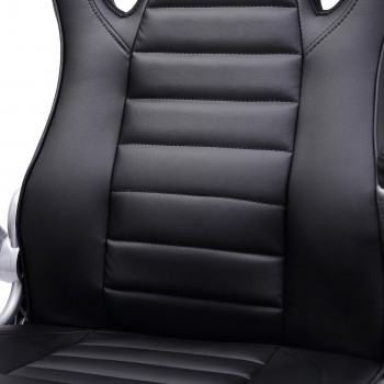 MY SIT Office Chair Racing in Black V10 Synthetic Leather – Bild 13