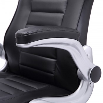 MY SIT Office Chair Racing in Black V10 Synthetic Leather – Bild 14
