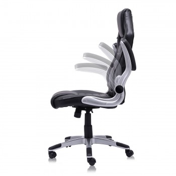 MY SIT Office Chair Racing in Black V10 Synthetic Leather – Bild 4