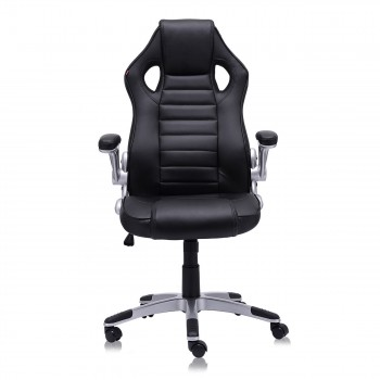 MY SIT Office Chair Racing in Black V10 Synthetic Leather – Bild 6