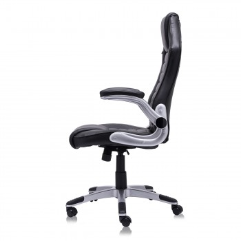 MY SIT Office Chair Racing in Black V10 Synthetic Leather – Bild 7