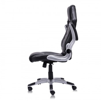 MY SIT Office Chair Racing in Black V10 Synthetic Leather – Bild 8