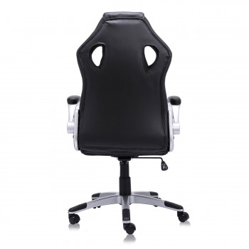 MY SIT Office Chair Racing in Black V10 Synthetic Leather – Bild 9