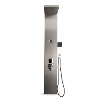 GAJO Shower Panel Rain Shower made of Stainless steel with digital Temperature display - Aqua – Bild 2