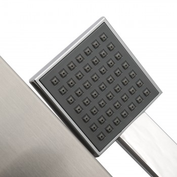 GAJO Shower Panel Rain Shower made of Stainless steel with digital Temperature display - Aqua – Bild 4