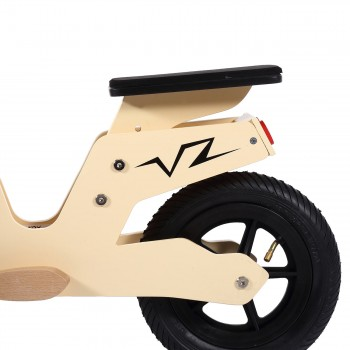 Baby Vivo 10 inch balance bike / trainer bike made of wood with bike bell - Capri – Bild 10