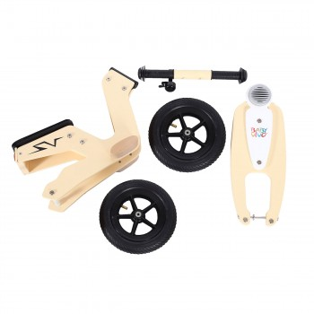 Baby Vivo 10 inch balance bike / trainer bike made of wood with bike bell - Capri – Bild 12