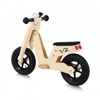 Baby Vivo 10 inch balance bike / trainer bike made of wood with bike bell - Capri – Bild 2