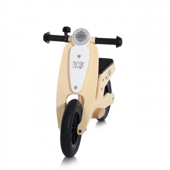 Baby Vivo 10 inch balance bike / trainer bike made of wood with bike bell - Capri – Bild 7