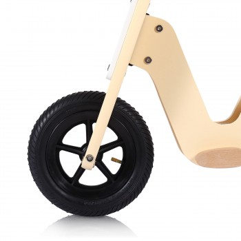 Baby Vivo 10 inch balance bike / trainer bike made of wood with bike bell - Capri – Bild 8
