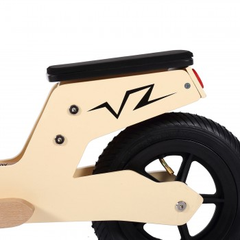 Baby Vivo 10 inch balance bike / trainer bike made of wood with bike bell - Capri – Bild 9