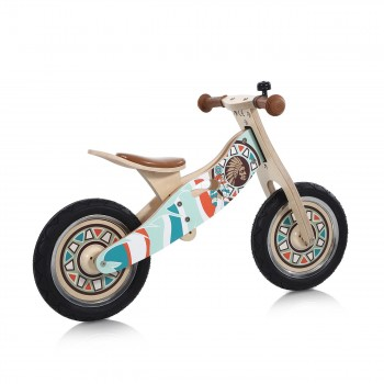 Baby Vivo 12 inch balance bike / trainer bike made of wood with bike bell - Winnie – Bild 5