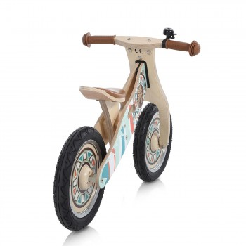 Baby Vivo 12 inch balance bike / trainer bike made of wood with bike bell - Winnie – Bild 4