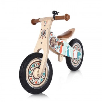 Baby Vivo 12 inch balance bike / trainer bike made of wood with bike bell - Winnie – Bild 1