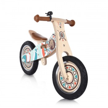 Baby Vivo 12 inch balance bike / trainer bike made of wood with bike bell - Winnie – Bild 6