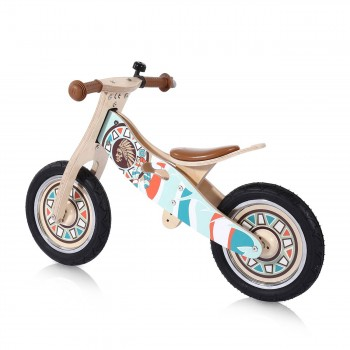 Baby Vivo 12 inch balance bike / trainer bike made of wood with bike bell - Winnie – Bild 2