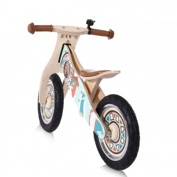 Baby Vivo 12 inch balance bike / trainer bike made of wood with bike bell - Winnie – Bild 3