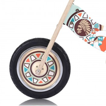 Baby Vivo 12 inch balance bike / trainer bike made of wood with bike bell - Winnie – Bild 8