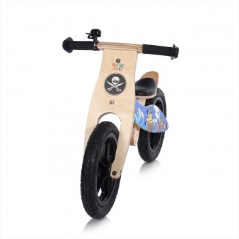 Baby Vivo 12 inch balance bike / trainer bike made of wood with bike bell - Jack – Bild 7