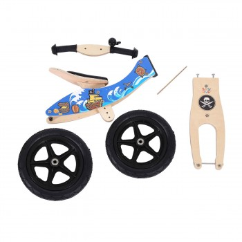 Baby Vivo 12 inch balance bike / trainer bike made of wood with bike bell - Jack – Bild 12