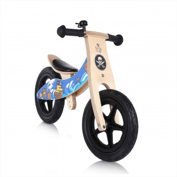 Baby Vivo 12 inch balance bike / trainer bike made of wood with bike bell - Jack – Bild 6