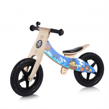 Baby Vivo 12 inch balance bike / trainer bike made of wood with bike bell - Jack – Bild 1