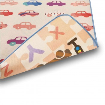 Baby Vivo Two-sided play mat for kids with letters 180 x 150 cm - Cars – Bild 11