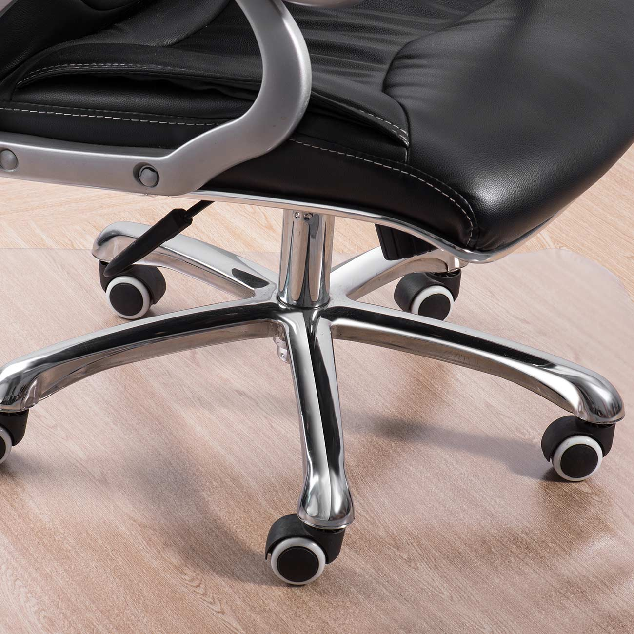 floor mat for desk chair. MY SIT 120 X 150 Cm Floor Mat / Office Chair Underlay Transparent For Hard Floors Desk