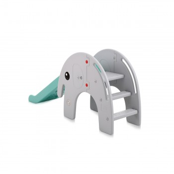 Baby Vivo Kids slide / Children´s slide - Elephant in Turquoise/Grey – Bild 3