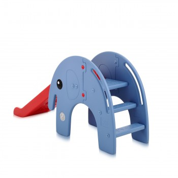 Baby Vivo Kids slide / Children´s slide - Elephant in Red/Blue – Bild 4