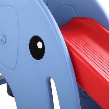 Baby Vivo Kids slide / Children´s slide - Elephant in Red/Blue – Bild 9