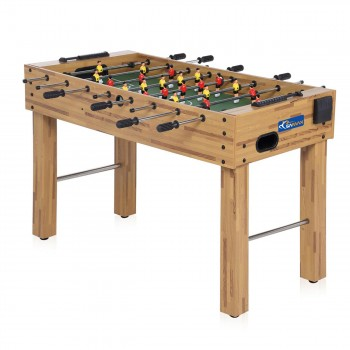 SAMAX Football Table / Soccer Table made of Wood with Cup Holder – Bild 3
