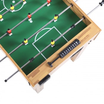 SAMAX Football Table / Soccer Table made of Wood with Cup Holder – Bild 6