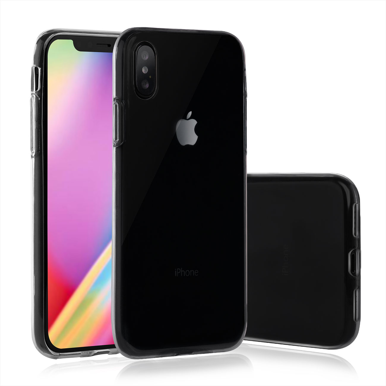 mututec iphone x apple phone case soft tpu transparent. Black Bedroom Furniture Sets. Home Design Ideas