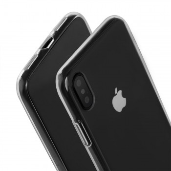 MutuTec iPhone X Handyhülle / Handyschale - Transparent – Bild 3