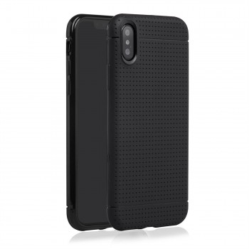 MutuTec iPhone X Apple Phone Case Soft TPU - Black – Bild 3